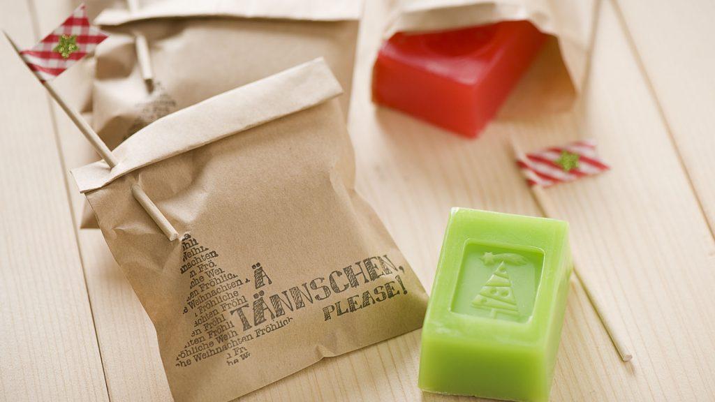 Ideen mit Seife für Weihnachten: Ä TÄNNSCHEN PLEASE