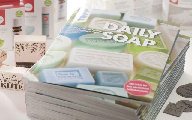 DAILY SOAP: Das Buch von Helene Ludwig | Erschienen im Frechverlag mit Ideen für Seifen, Badekugeln und Badesalze für's ganze Jahr