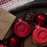 Ideen mit Seife für Weihnachten: Weihnachtsduft   Originelles Potpourri mit Seifenstücken mit geprägtem Herz und Stern als Duftträger
