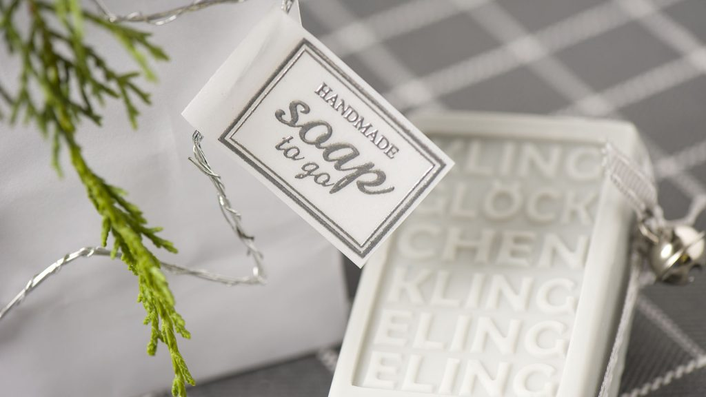 Ideen mit Seife für Weihnachten: Klingelingeling - Detailbild