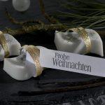 Ideen mit Seife für Weihnachten: Edel und verführerisch   Seife als extravagantes Give-Away mit verführerischem Vanilleduft