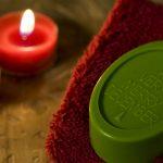 Ideen mit Seife für Weihnachten: A very merry christmas   Rückfettende Gästeseife mit weihnachtlichem Duft