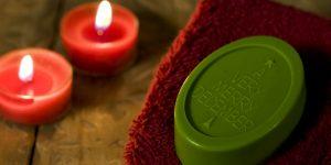 Ideen mit Seife für Weihnachten: A very merry christmas | Rückfettende Gästeseife mit weihnachtlichem Duft
