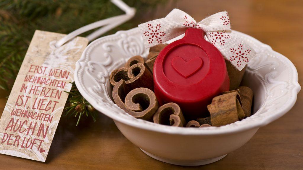 Ideen mit Seife für Weihnachten: Weihnachtsduft   Kleines Potpourri zum Verschenken