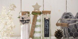 Ideen mit Badesalz für Weihnachten: Family Time | Badesalz für die ganze Familie. Kreativ, mineralstoffreich und individuell.