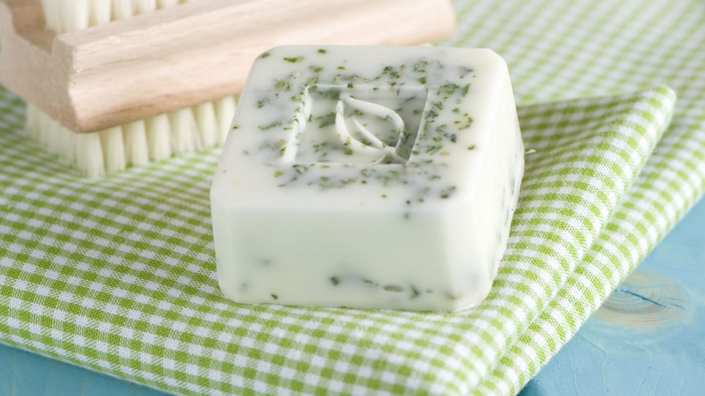Ideen mit Seife: Minze trifft Seife