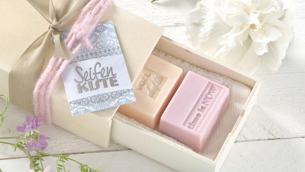 Ideen mit Seife: Kleine Seifen zum Verschenken
