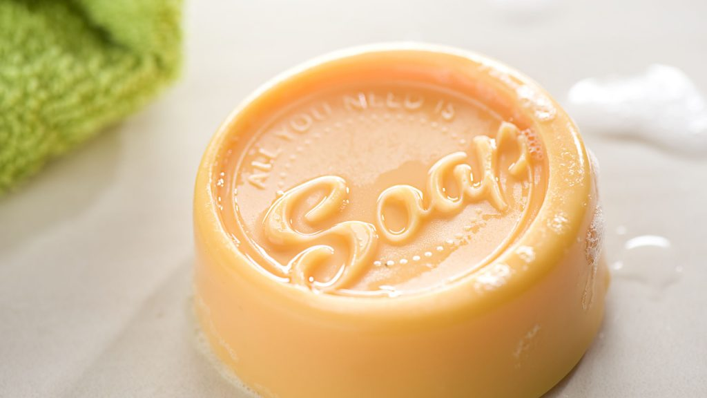Ideen mit Seife: All you need is soap