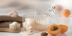 Ideen mit Seife: Köstliche Auszeit | Selbstgemachte schäumende Gesichtsseife mit Aprikosenkernöl