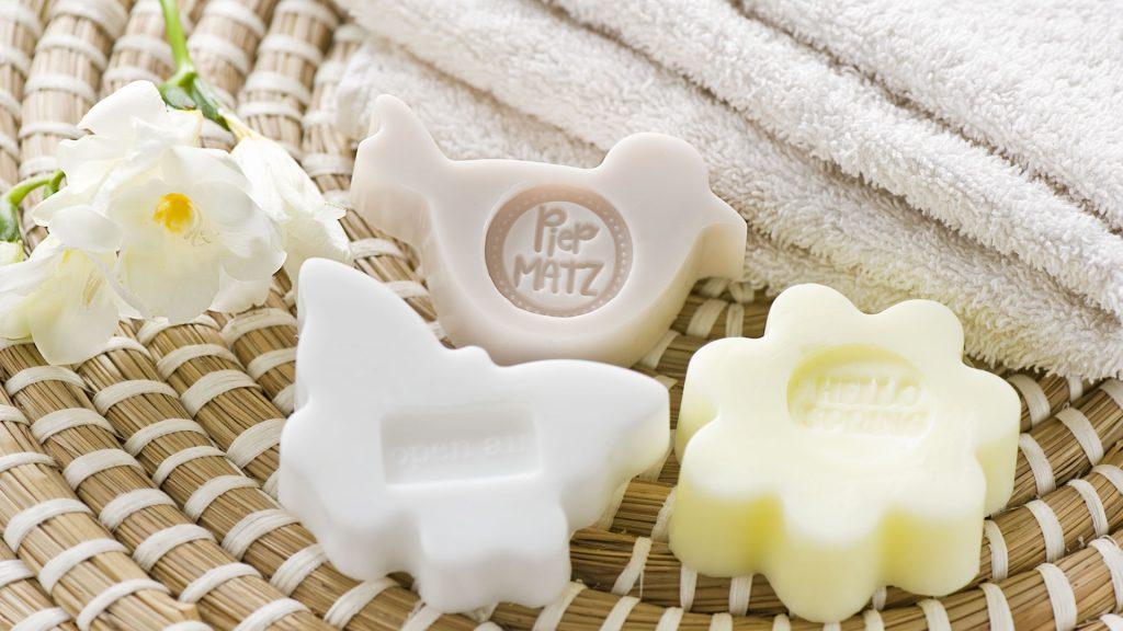 Ideen mit Seife: neue Gießformen für Frühling und Sommer