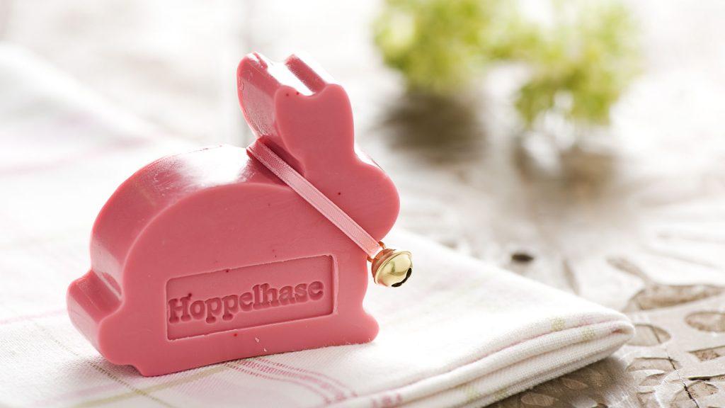 Ideen mit Seife für Ostern: Hoppelhase