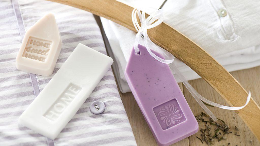 Ideen mit Seife: Lavendelseifen für die Wäsche