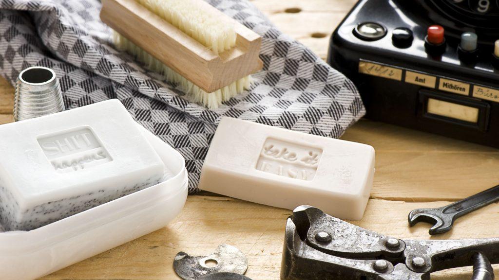 Ideen mit Seife: Starke Seifen für starke (Männer-)Hände