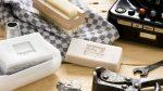 Ideen mit Seife: Starke Seifen in Naturtönen für starke (Männer-)Hände